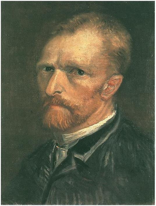 Vincent van Gogh's Autorretrato Painting