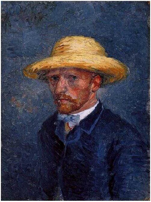 Retrato de Theo van Gogh de Vincent van Gogh | 2091 | Pinturas | Óleo sobre tela