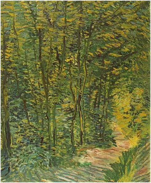 """Resultado de imagen de hojas al viento impresionismo"""""""