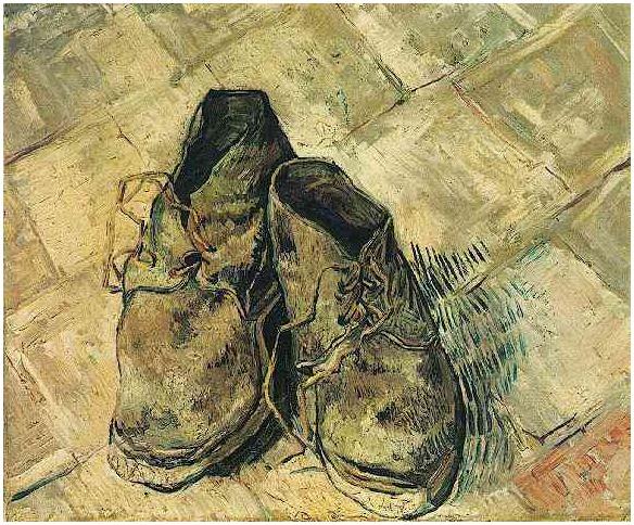 a530bdc1af8c Vincent Van Gogh A Pair Of Shoes Painting - Defendbigbird.com
