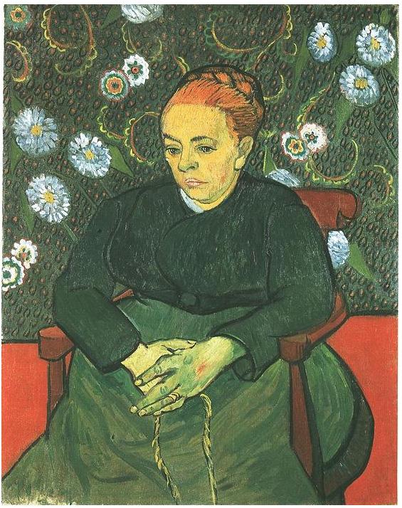 Van Gogh La Berceuse (Augustine Roulin)