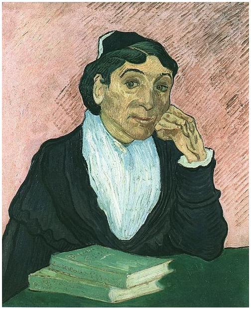 Van Gogh Painting L'Arlesienne (Madame Ginoux)