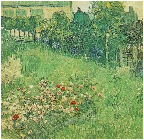 daubigny_vincent van gogh\'s daubigny\'s garden painting
