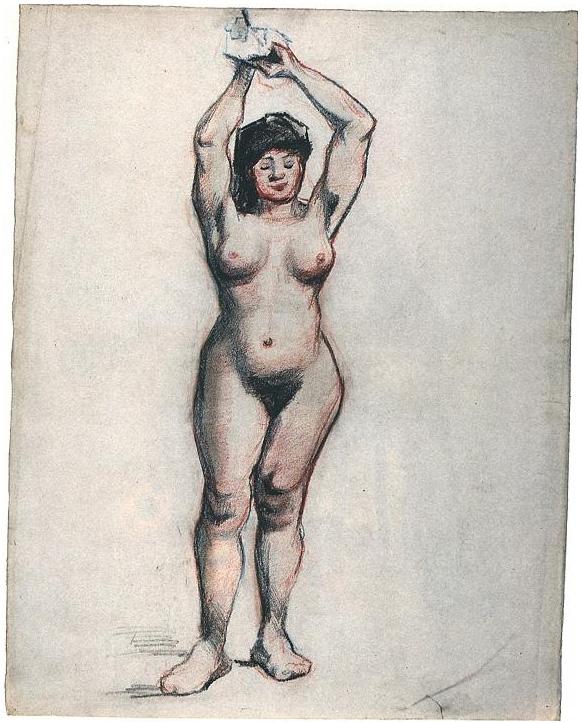 Mujeres Desnudas De Frente Imágenes De Archivo,