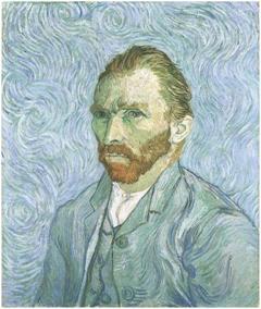 Autorretratos de Vincent van Gogh 6aa6782c828