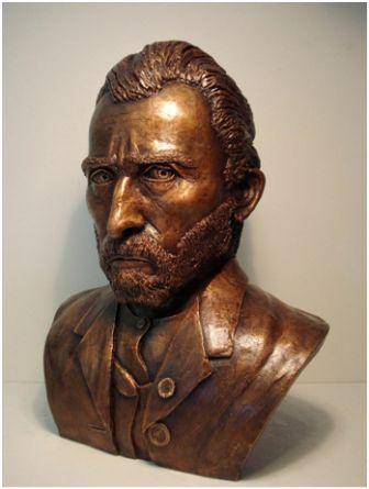 Van Gogh in Bronze - Okke Weerstand