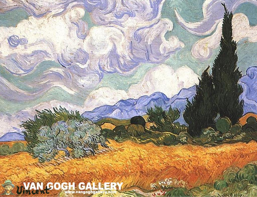 Van Gogh Bedroom Painting Desktop Wallpaper | Van Gogh Gallery